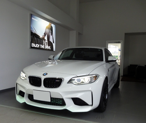 BMW M2納車ライト