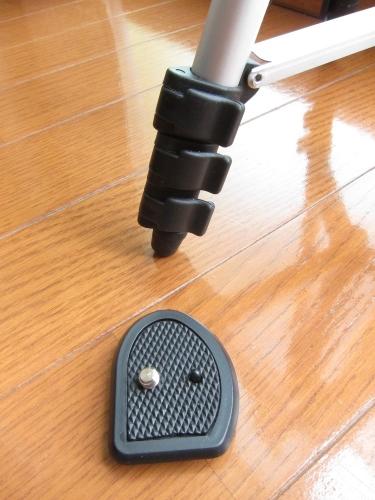 4段伸長三脚 CX-007 ロック方法+クイックシュー
