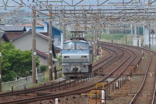 EF66 117号機 豊橋-西小坂井間