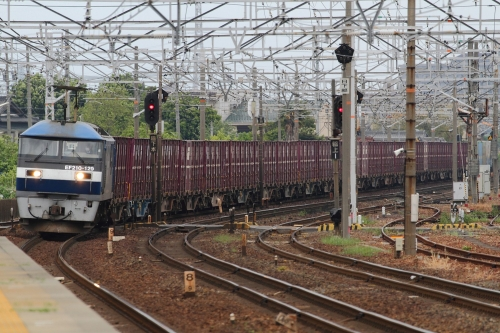 1054レ 清洲駅