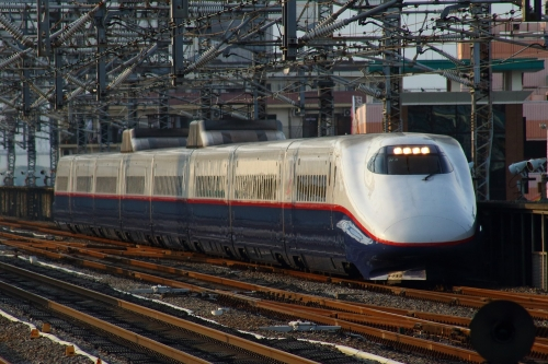E2系8両編成 あさま656号 高崎駅