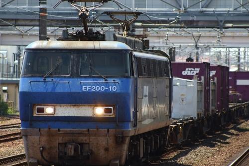 EF200牽引2087レ 清洲