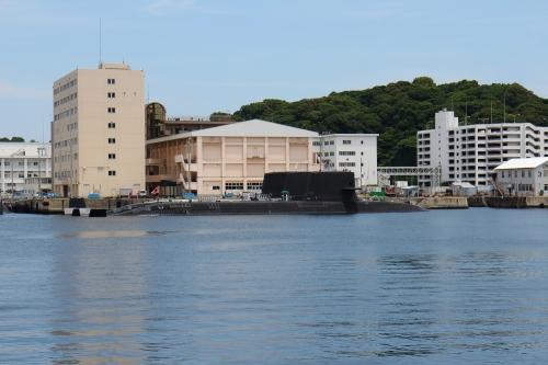 海上自衛隊横須賀基地 潜水艦群