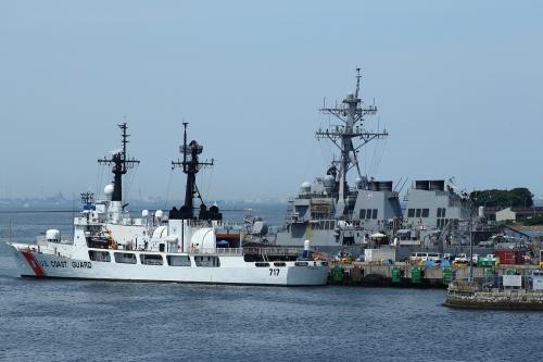 米海軍とアメリカ沿岸警備隊「メロン」