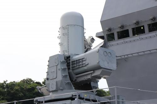 護衛艦「いずも」 SeaRAM 近SAMシステム