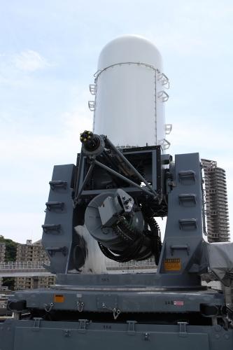 護衛艦「いずも」 CIWS・ファランクス