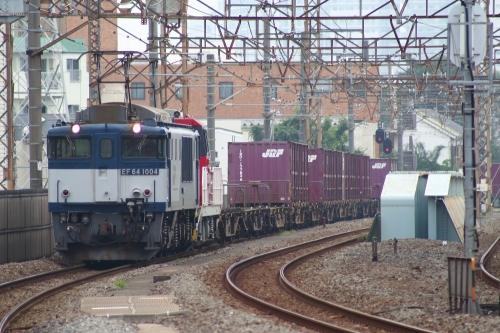 EF64 1004牽引 HD300-7+8077レ 八丁畷