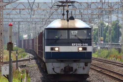 EF210-146牽引 5080レ(遅延) 平塚