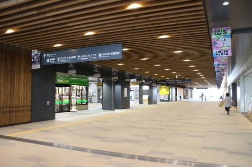 上越妙高駅コンコース