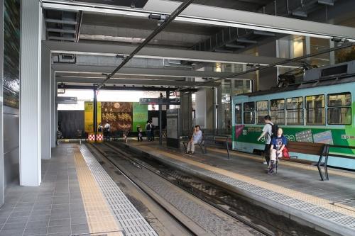 富山地方鉄道 富山駅停留場