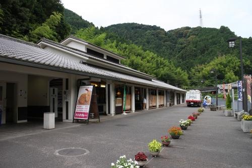 道の駅宇津ノ谷峠(静岡側)