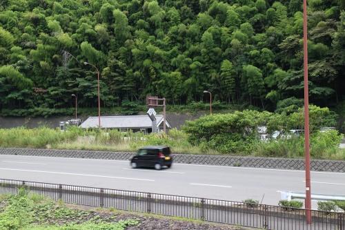 道の駅宇津ノ谷峠(静岡側・上り線)