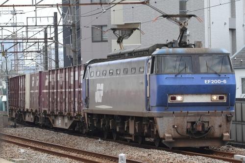EF200-6代走・1155レ 八丁畷駅