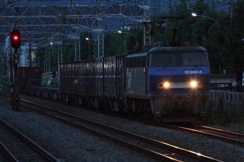 EF200-6代走・1154レ 平塚駅