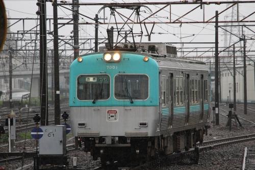 岳南電車7000形電車 吉原駅