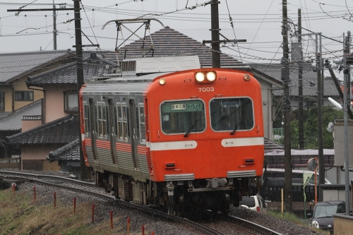 岳南電車7000形電車 神谷駅