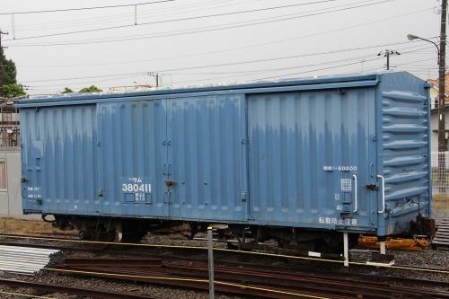 岳南富士岡駅留置車両群
