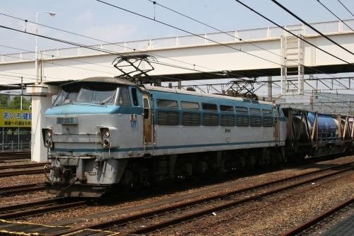EF66 1 大府駅 2007年8月1日撮影