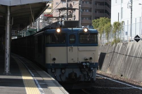 EF64 1050 千種駅 2013年3月14日撮影