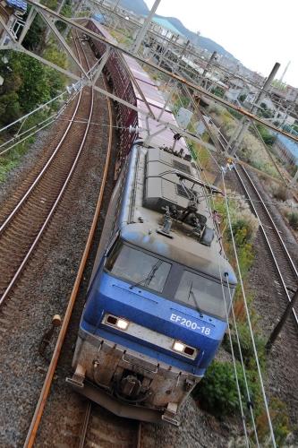 EF200-18代走・5095レ