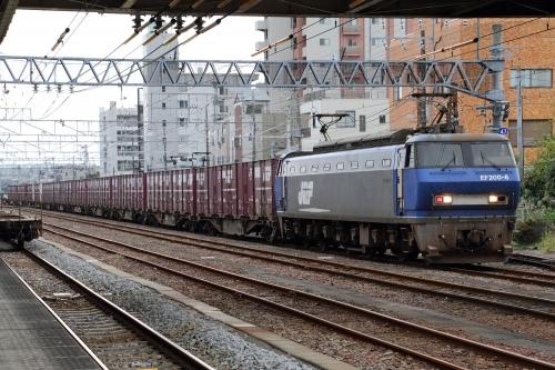 EF200-6 富士駅