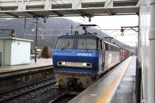 EF200-8 柏原駅