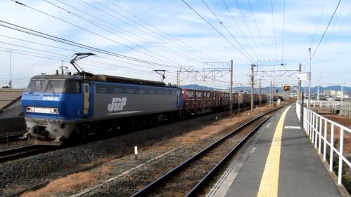 EF200-13 下地駅(キャプチャ)