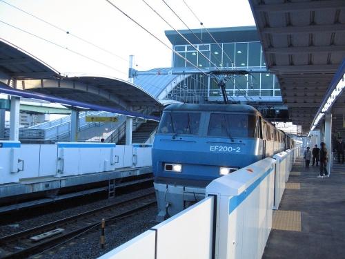EF200-2(旧塗装) ささしまライブ駅