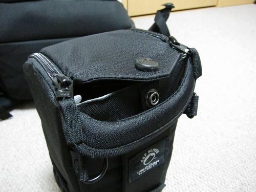 S&F レンズエクスチェンジケース200AW レンズフード押込