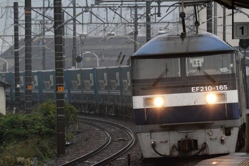 2053レ 新蒲原駅