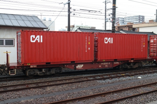 CAIコンテナ 富士駅