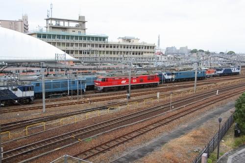稲沢駅留置車両群1