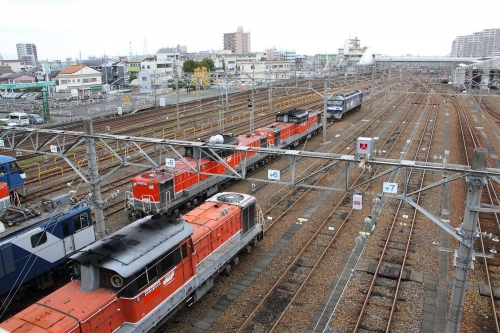 稲沢駅留置車両群2