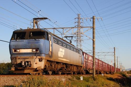 EF200-17代走・5095レ 富士-吉原間
