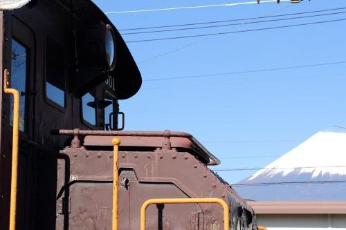 ED501と富士山