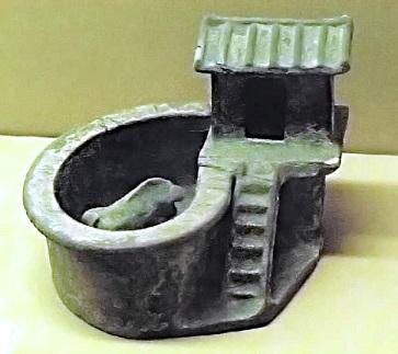 後漢(東漢)代の模型