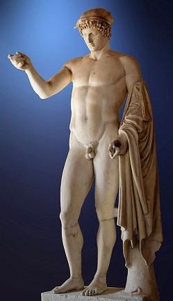 雄弁の神(ロギオス)としてのヘルメース像