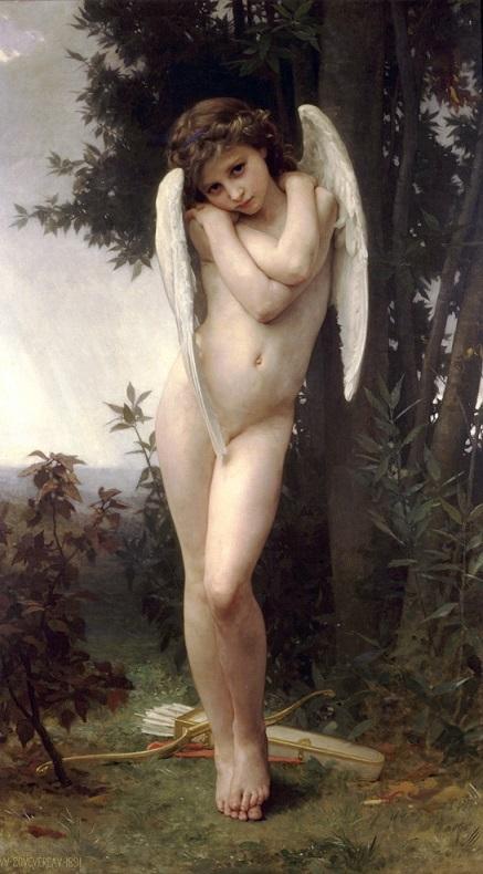 ウィリアム・アドルフ・ブグロー 『クピードー』1875