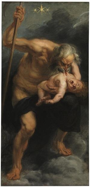 ルーベンス『我が子を食らうサトゥルヌス』