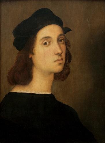 ラファエロ・サンティ『自画像』1506年