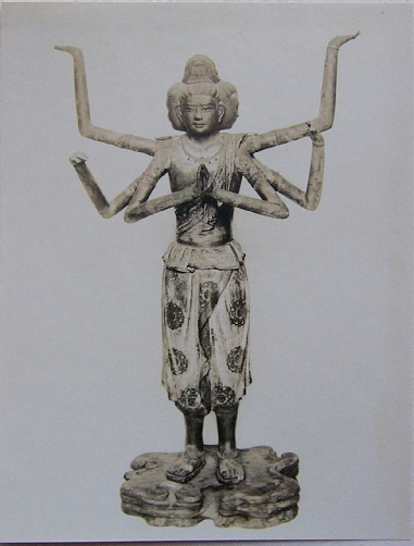 興福寺阿修羅像(奈良時代)