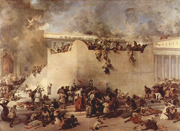 フランチェスコ・アイエツ『エルサレム神殿の破壊』