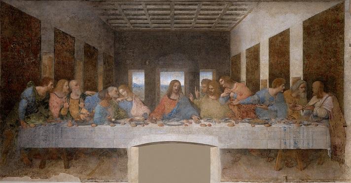 レオナルド・ダ・ヴィンチ『最後の晩餐』1495-1498