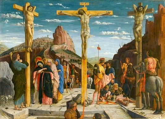 アンドレア・マンテーニャ 『磔刑図』 1459年