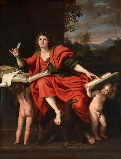 ドメニコ・ザンピエーリ 『福音記者ヨハネ』1621–29年