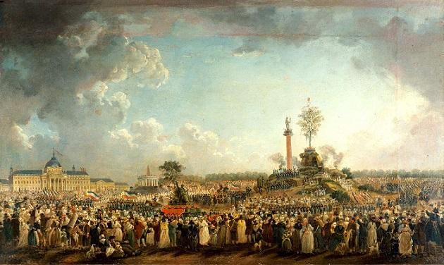 ピエール・アントワーヌドゥマシー『最高存在の祭典』1794年
