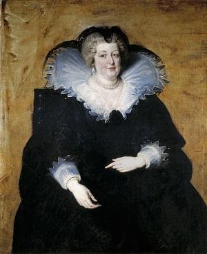 ピーテル・パウル・ルーベンス『マリー・ド・メディシスの肖像』1622年