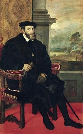ティツィアーノ・ヴェチェッリオ 『カール5世』1548年