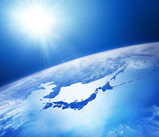 日本 地球