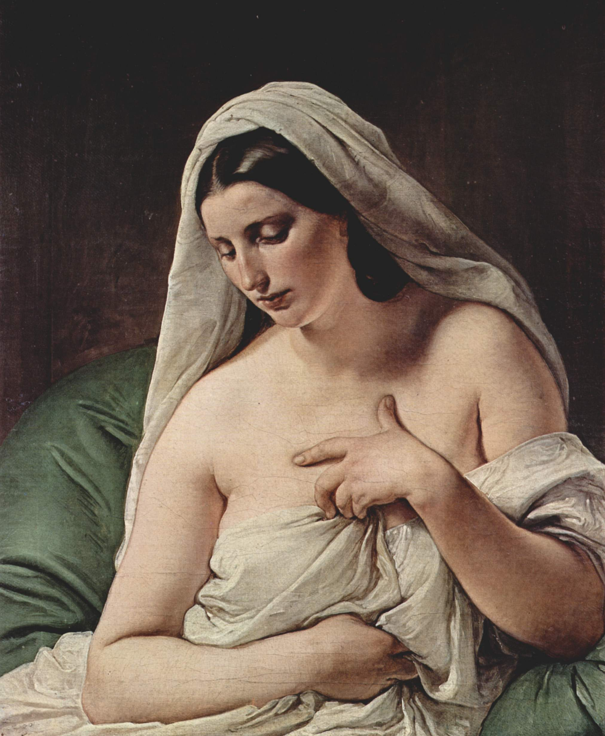 フランチェスコ・アイエツ『オダリスク』1867年